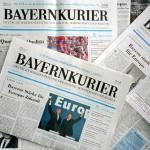 Bayernkurier Titelseiten