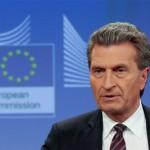 Günther Oettinger, EU-Kommissar (Foto: dpa)