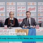 Jan Böhmermann gibt Pressekonferenz