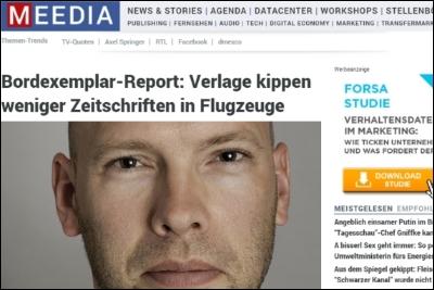 """Christian Meier zieht's hinaus in die """"Welt"""". (Foto: Meedia)"""