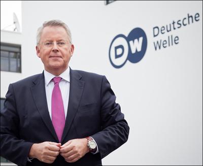 Deutsche Welle,  Intendant Peter Limbourg