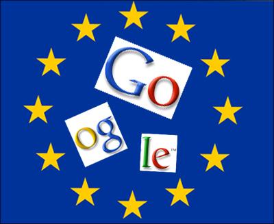 Eu-Flagge Google zerschlagen