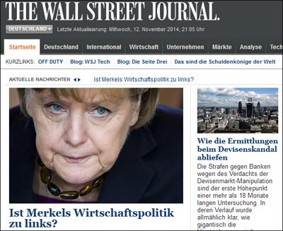WSJ.de-screenshot