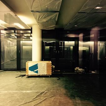 Newsroom-Baustelle bei der Süddeutschen Zeitung (Foto: Stefan Plöchinger)