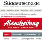"""Sueddeutsche.de und """"Abendzeitung"""" beeden die gemeinsame IVW-Zählung. 150"""