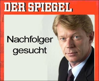 Spiegel sucht Nachfolger fürGeschäftsführer  Ove Saffe.