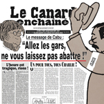 Le Canard enchaine Cover 150