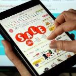 Online-Handel, Tablet, Sale, Symbolbild, dpa