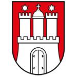 Stadtwappen Hamburg 150