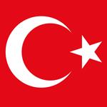 Türkei Flagge 150