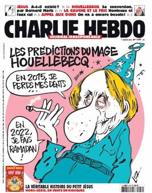 Charlie Hebdo, die Ausgabe vom 7. Januar 2015