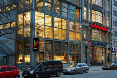 """""""taz""""-Redaktionsgebäude in Berlin"""
