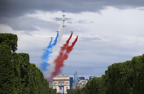 APTOPIX France Bastille Day