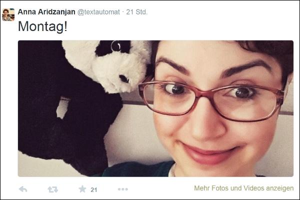 Anna Aridzanjan mit Bär 600