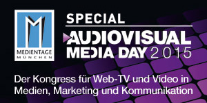 Audiovuisual Media Day 2015 Banner