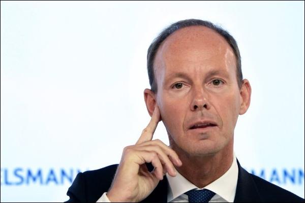 Bertelsmann-Boss Thomas Rabe spitzt die Ohren, wenn's um Zukunftsgeschäfte geht (Foto: dpa)
