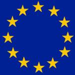 Europa EU-Flagge Sterne
