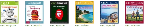 Geo Heftreihe 1