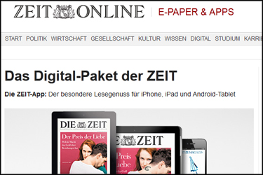 Zeit Online Digitalabo