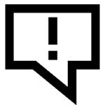 Correctiv Ausrufezeichen ohne Schriftzug-150