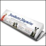 FAS Frankfurter Allgemeine Sonntagszeitung Zeitungsrolle