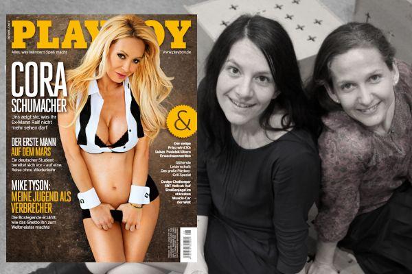 Blattkritik_Janina Gatzky, Ute Gliwa, Séparée, Playboy-400