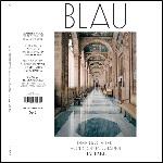 """""""Blau"""" erscheint mit zwei Cover-Varianten. Dieses macht mit dem Architekten Raffael auf."""