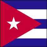 Kuba Flagge 150 Cuba