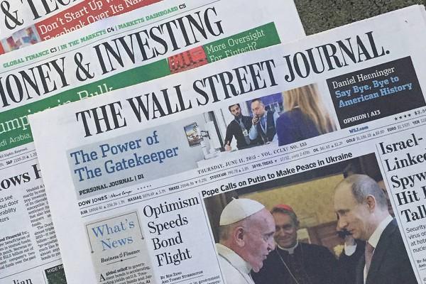 Wal Street Journal 600x400