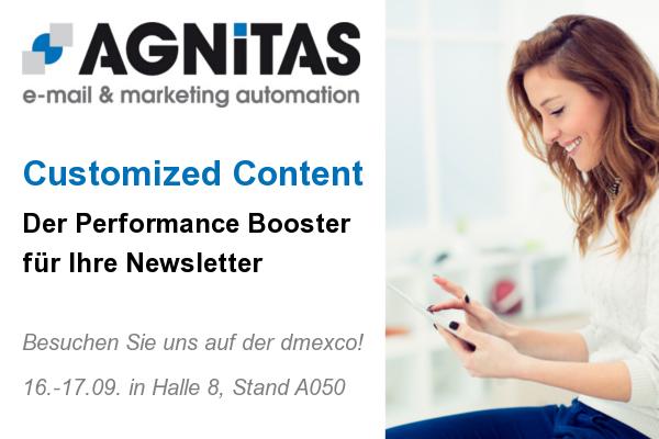 Agnitas Content Marketing 600x400dmexco