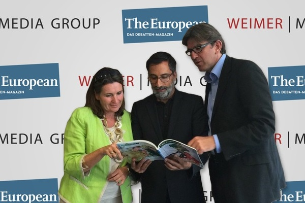 Christiane Goetz-Weimer, Alexander Görlach, Wolfram Weimer - The European 21.8.2015