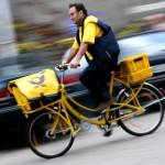 Post briefträger fahrrad 600
