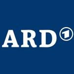 ARD weiss auf blau 150