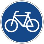Fahrradwegsymbol-150