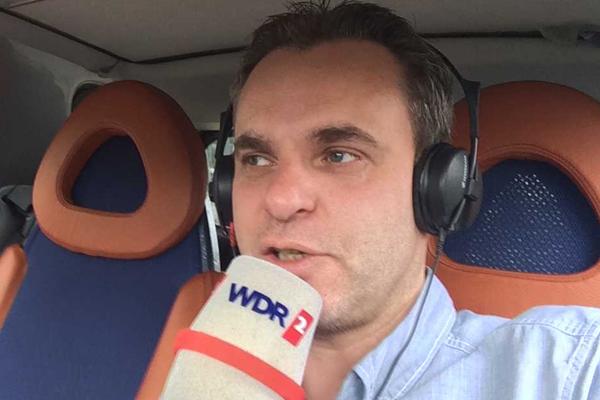 Frank Überall im WDR2-Einsatz