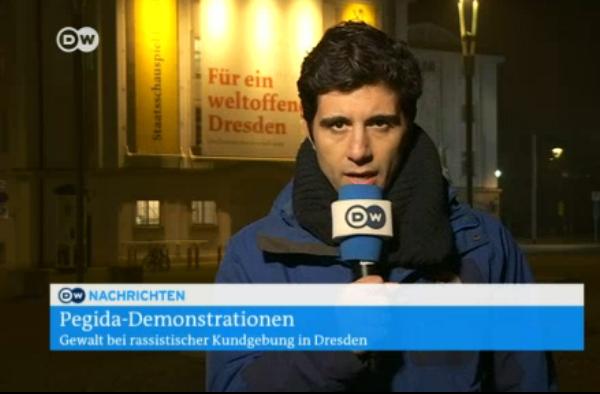 DW-Reporter Jaafar Abdul Karim in Dresden600