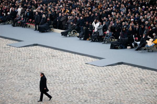 Holland bei Trauerveranstaltung