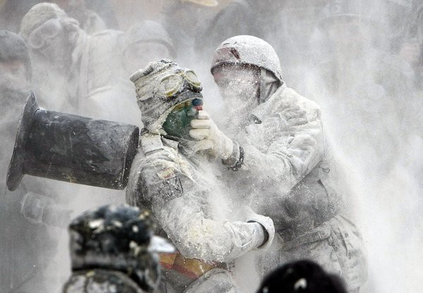 Ibi flour fight