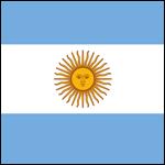 Argentinien Flagge 150