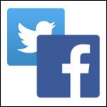 Twitter Facebook-150