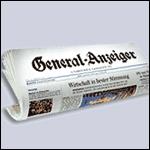 Bonner General-Anzeiger Zeitungsrolle 150