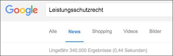 Google Leistungsschutzrecht 600