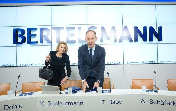 Bertelsmann - Jahreszahlen