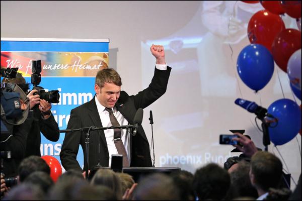 AfD Wahlparty Sachsen-Anhalt600