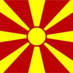 Mazedonien Flagge-150