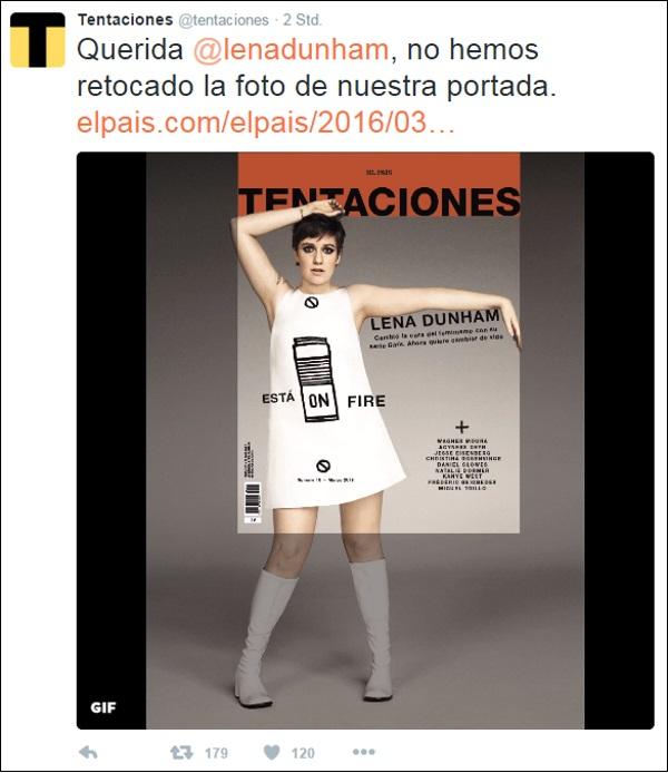 tweet Lena Dunham El Pais 600