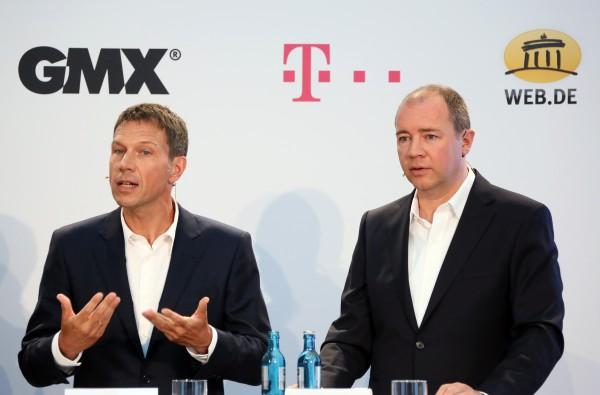 Ziehen wieder an einem Strang: Ex-Telekom-Chef René Obermann und United-Internet-Chef Ralph Dommermuth wollen Waffengleichheit mit US-Konzernen herstellen.