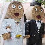 Stroh-Hochzeitspaar150