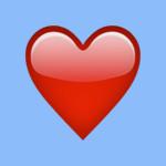 Herz Emoji-150