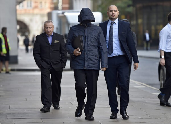 Court case of undercover reporter Mazher Mahmood in London